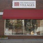 Store front in downtown Harrisonburg