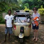 Chaminda, our tuk tuk driver. Fantastic guide!