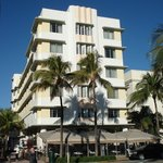 Hotel from Ocean Drive