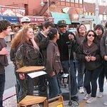 Singing at the Wharf