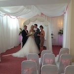 Our Civil Ceremony Room is beautiful for your wedding...!!!