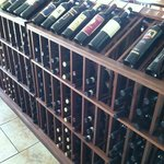 Great selection of wine at very good place. Buy what you like and they will open and serve you.