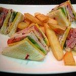 Mikes club sandwich