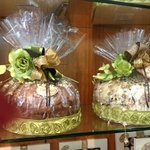 chocolate covered panettone