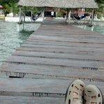 descansando super bien, con el mar alrrededor