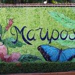 Hotel mosaic outside entrance
