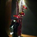 flores no lobby