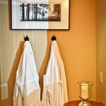 Relax in our luxurious robes.