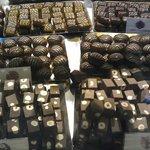 Che vista... cioccolatini di ogni tipo