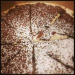 Pizza Golosona with nutella