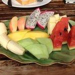 Lovely fruit plate