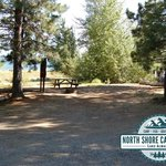 Check out this awesome RV and Tent site at North Shore Campground!