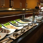 buffet at lunch