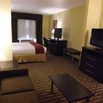 Is your spouse hogging the tv? No problem! Two tvs in every suite room!