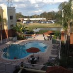 Holiday inn express pool in Florida