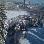 Lift from the resort
