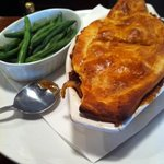steak guiness and mushroom pie