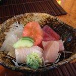 first dish of my kaiseki set