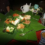 Lovely northern Thai style dinner