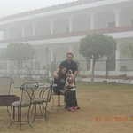 Lawn of the Hotel.................