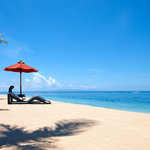 Private Beach at St. Regis Bali Resort