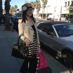 crazy shopping at Santa Monica