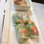 pork and shrimp fresh spring rolls