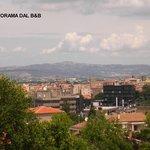 Panorama: vista della città dal B&B