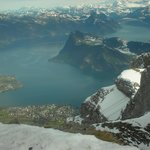 View from a portal - Mt. Pilatus