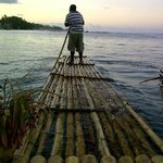 Sunset Raft ont he Lagoon , Most Romantic by Far :)