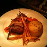 Braised Lamb Rump with Fondant Potatoes