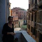 vistas desde el balcón del hall del primer piso