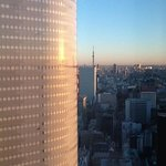 Tokyo tower from lounge...