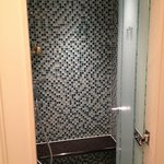 Shower with funky tiles