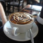 A very pretty coffee which tasted great too!