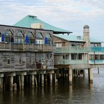 Harbour Master Suites from fishing pier