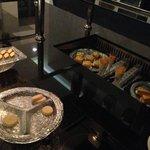 Pastas y dulces que nos acompañaron los 3 dias Club Millesime Lounge