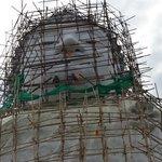 Renovering af statuen.