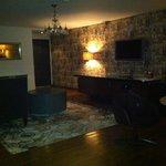 Eingangsbereich, TV, Minibar....
