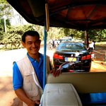 Mr. Small, the best tuktuk driver!