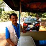 Mr. Small, the best tuktuk driver!
