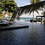 Vista de la piscina del Hotel