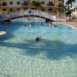 Great pool with disabled access to poolside