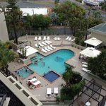 View from Room - Hotel Pool