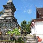 Stupa in Wat Sensoukaram