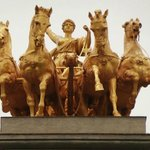Lovely gilded statues.