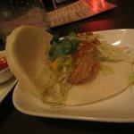 Shrimp bao bao