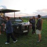 Mosethla Bush Camp sundowners