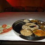 Special Thali from Rajasthan, just DELICIOUS!!