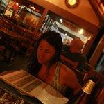 il piano rialzato del ristorante